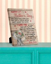 Happy 1st Mother's Day 8x10 Easel-Back Gallery Wrapped Canvas aos-easel-back-canvas-pgw-8x10-lifestyle-front-15