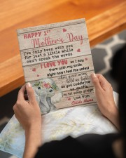 Happy 1st Mother's Day 8x10 Easel-Back Gallery Wrapped Canvas aos-easel-back-canvas-pgw-8x10-lifestyle-front-17
