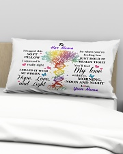 You Will Feel My Love Personalized Rectangular Pillowcase aos-pillow-rectangular-front-lifestyle-01