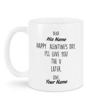 The Perfect Valentine's Day Gift Mug back