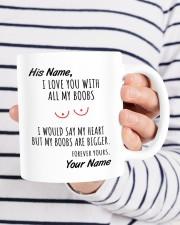 I LOVE YOU WITH ALL MY BOOBS Mug ceramic-mug-lifestyle-36