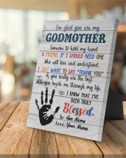 To My Godmother Personalized 8x10 Easel-Back Gallery Wrapped Canvas aos-easel-back-canvas-pgw-8x10-lifestyle-front-04