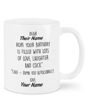 Funny Birthday Gift Mug front