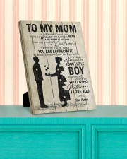 To My Mom Personalized 8x10 Easel-Back Gallery Wrapped Canvas aos-easel-back-canvas-pgw-8x10-lifestyle-front-15