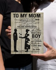 To My Mom Personalized 8x10 Easel-Back Gallery Wrapped Canvas aos-easel-back-canvas-pgw-8x10-lifestyle-front-22