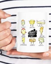 Cheesy I camembert to brie without you  Mug ceramic-mug-lifestyle-35a