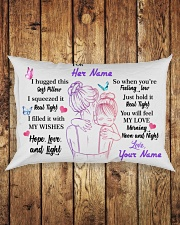 You Will Feel My Love Personalized Rectangular Pillowcase aos-pillow-rectangle-front-lifestyle-2