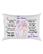 You Will Feel My Love Personalized Rectangular Pillowcase front