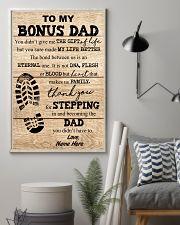 TO MY BONUS DAD 16x24 Poster lifestyle-poster-1