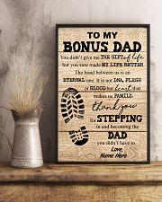 TO MY BONUS DAD 16x24 Poster lifestyle-poster-3