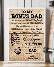 TO MY BONUS DAD 16x24 Poster lifestyle-poster-4