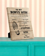 To My Bonus Mom 8x10 Easel-Back Gallery Wrapped Canvas aos-easel-back-canvas-pgw-8x10-lifestyle-front-15