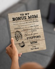 To My Bonus Mom 8x10 Easel-Back Gallery Wrapped Canvas aos-easel-back-canvas-pgw-8x10-lifestyle-front-19