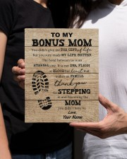 To My Bonus Mom 8x10 Easel-Back Gallery Wrapped Canvas aos-easel-back-canvas-pgw-8x10-lifestyle-front-22