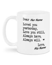 Valentine's Day Gift Mug back