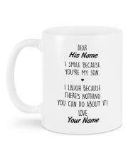 The Perfect Gift For Your Son Mug back