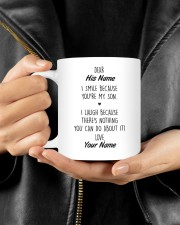 The Perfect Gift For Your Son Mug ceramic-mug-lifestyle-25