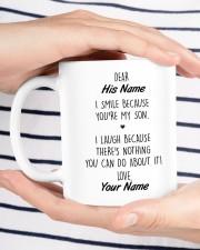 The Perfect Gift For Your Son Mug ceramic-mug-lifestyle-37