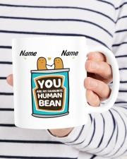 YOU ARE MY FAVOURITE HUMAN BEAN Mug ceramic-mug-lifestyle-36
