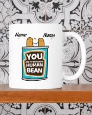 YOU ARE MY FAVOURITE HUMAN BEAN Mug ceramic-mug-lifestyle-48
