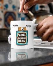 YOU ARE MY FAVOURITE HUMAN BEAN Mug ceramic-mug-lifestyle-60