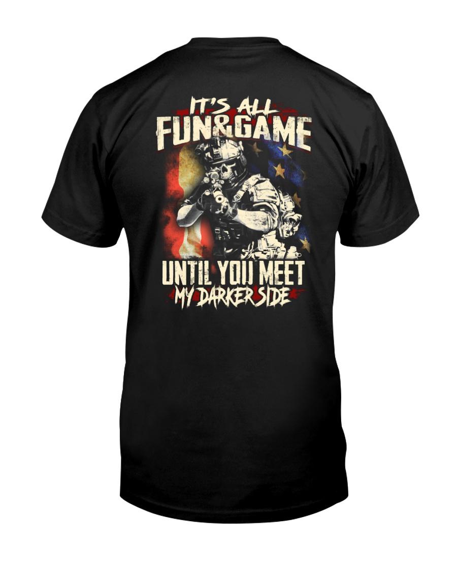 Veteran Fun and Game Classic T-Shirt