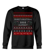 Elephant Ugly Christmas Sweater Shirt Hoodie Gifts Crewneck Sweatshirt thumbnail