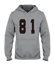 Print Sports Jersey 81Throwback Hoodie Hooded Sweatshirt front