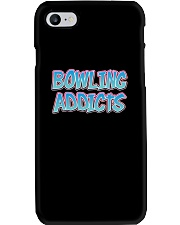 Classic Bowling Addicts T-Shirt vol 2 Phone Case thumbnail