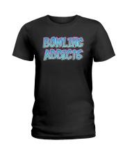 Classic Bowling Addicts T-Shirt vol 2 Ladies T-Shirt thumbnail