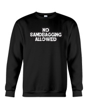 No Sandbagging Allowed by Bowling Addicts Crewneck Sweatshirt thumbnail