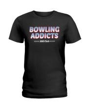 Classic Bowling Addicts T-Shirt vol 4 Ladies T-Shirt thumbnail
