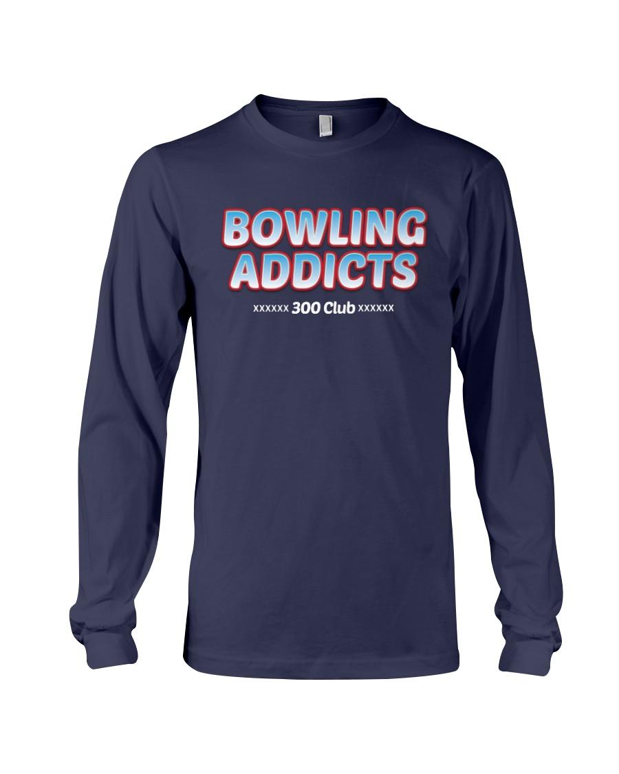 Classic Bowling Addicts T-Shirt vol 4 Long Sleeve Tee