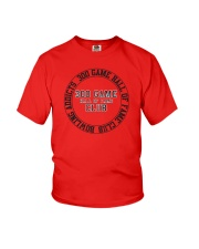 Bowling Addicts 300 Game Hall of Fame Youth T-Shirt thumbnail