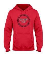 Bowling Addicts 300 Game Hall of Fame Hooded Sweatshirt thumbnail