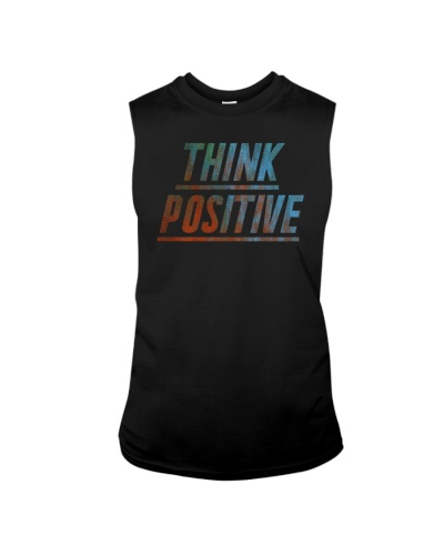 Think Positive T-Shirt by FREEDOM FIGHTERS