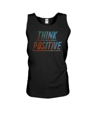 Think Positive T-Shirt by FREEDOM FIGHTERS Unisex Tank thumbnail
