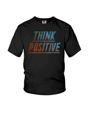 Think Positive T-Shirt by FREEDOM FIGHTERS Youth T-Shirt thumbnail
