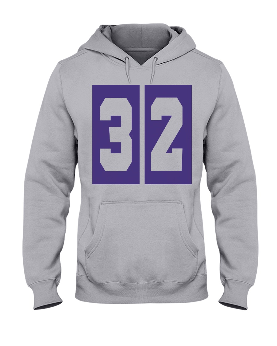Print Sports 32 SHOWTIME Throwback  Hooded Sweatshirt