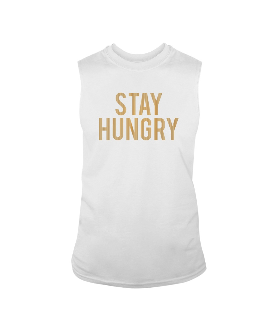 Stay Hungry T-Shirt by Bowling Addicts Sleeveless Tee