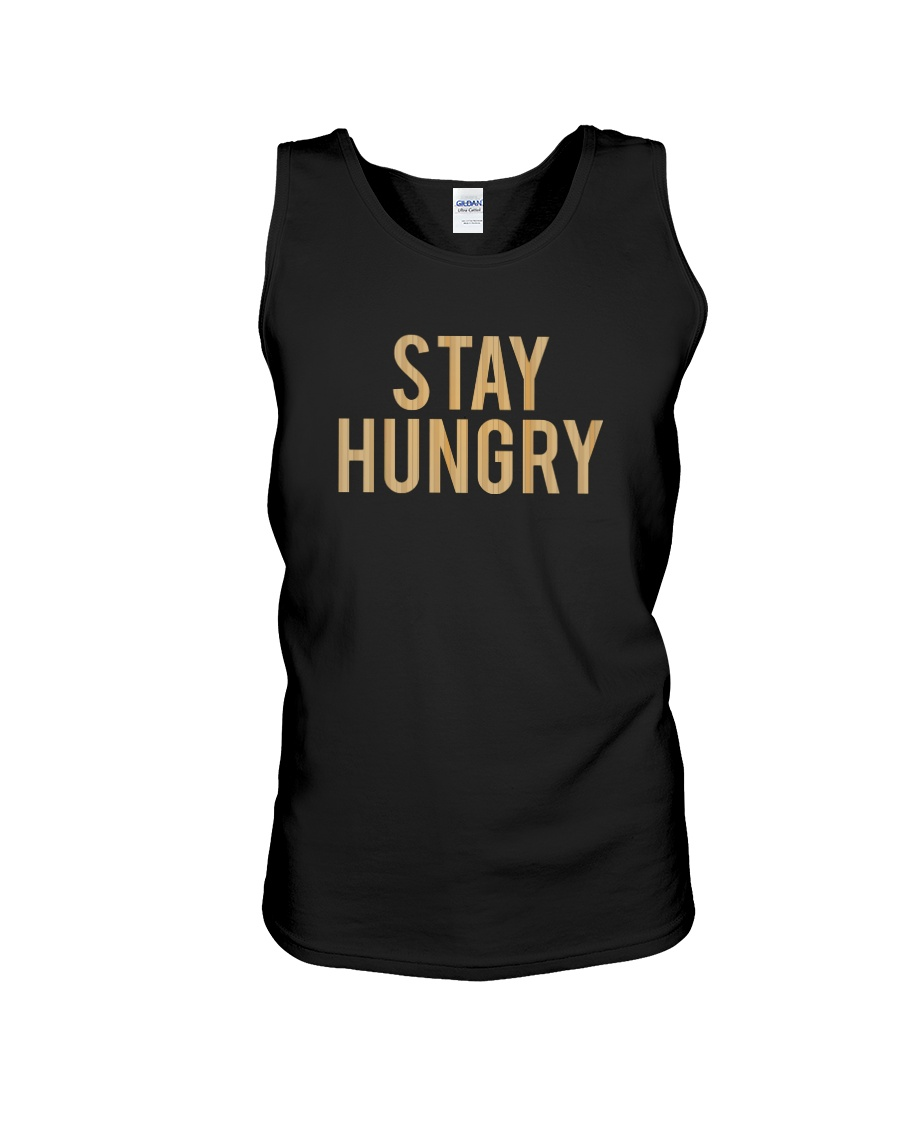 Stay Hungry T-Shirt by Bowling Addicts Unisex Tank