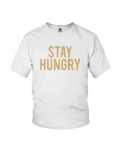 Stay Hungry T-Shirt by Bowling Addicts Youth T-Shirt front