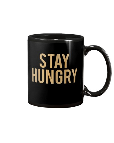 Stay Hungry T-Shirt by Bowling Addicts