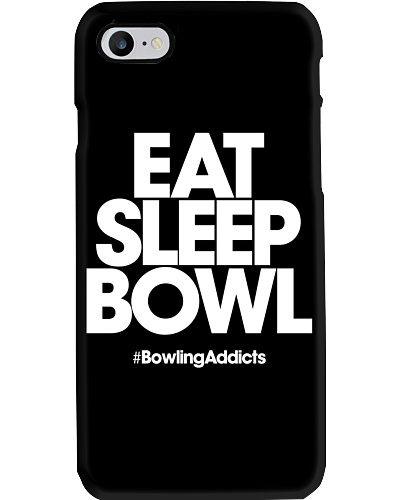Eat Sleep Bowl by Bowling Addicts