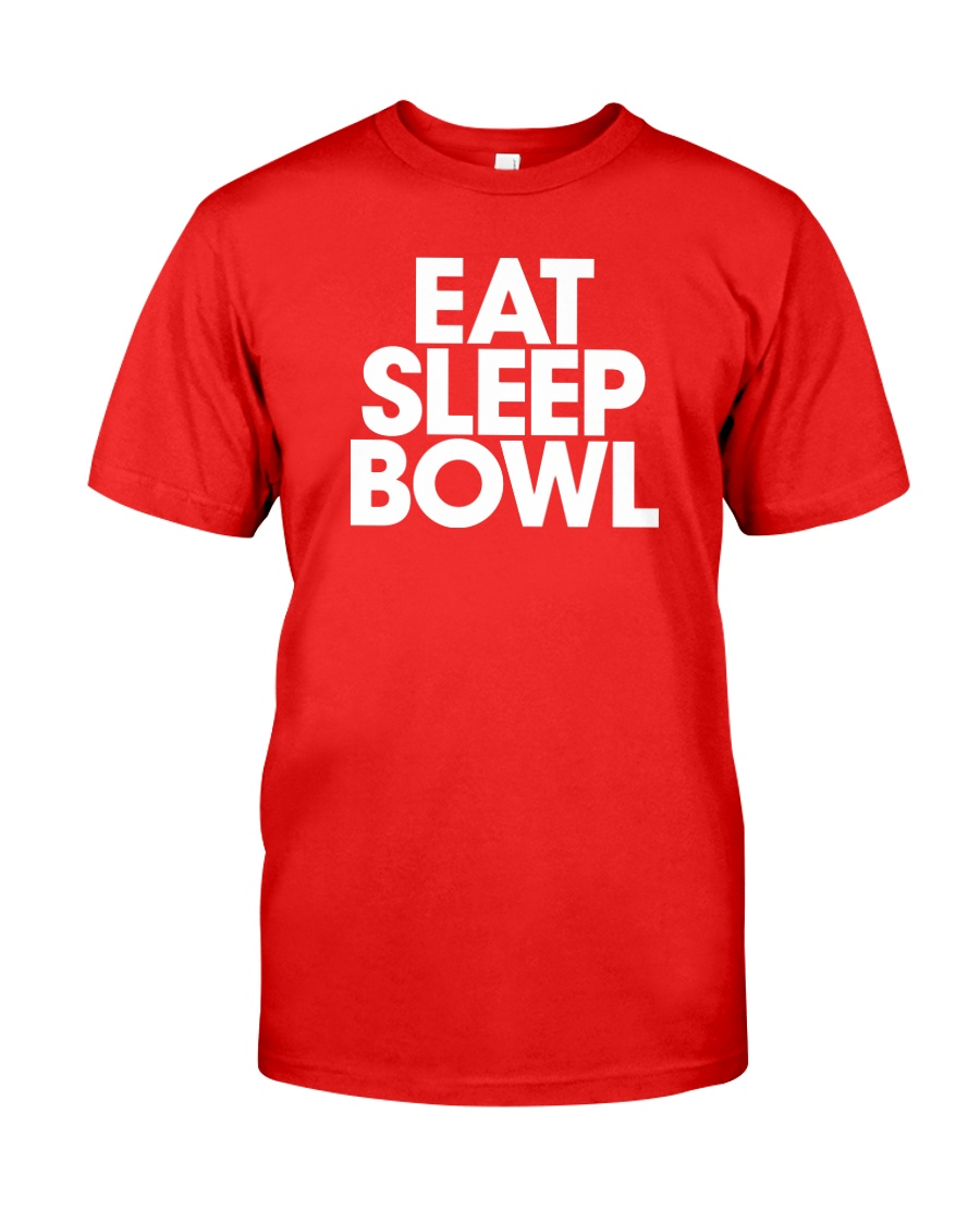 Eat Sleep Bowl by Bowling Addicts Classic T-Shirt