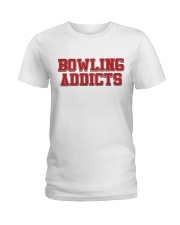 Classic Bowling Addicts T-Shirt vol 3 Ladies T-Shirt thumbnail