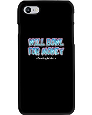 Will Bowl For Money by Bowling Addicts Phone Case thumbnail