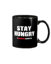 Stay Hungry 2 T-Shirt by Bowling Addicts Mug front
