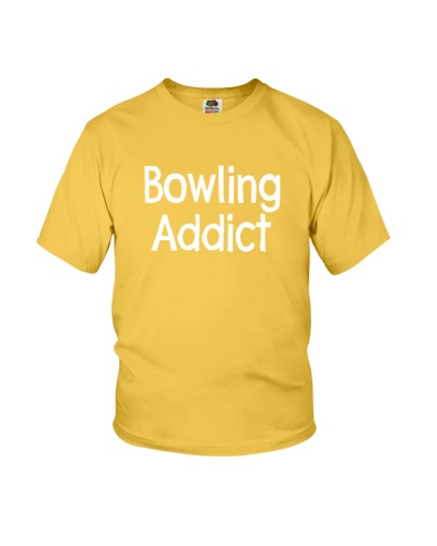 Bowling Addict T-Shirt by Bowling Addicts