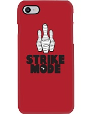 Strike Mode T-Shirt by Bowling Addicts Phone Case tile